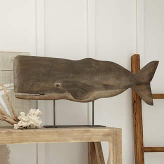 Birch Lane Wood Whale Decor