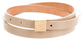 Louis Vuitton Narrow Leather Belt