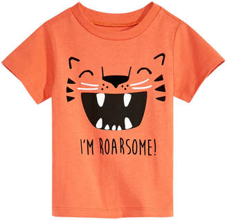 First Impressions Baby Boys Graphic-Print Cotton T-Shirt, Created for Macy's