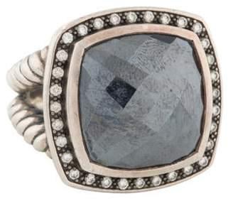 David Yurman Hematine & Diamond Midnight Albion Ring