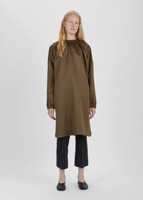 Dusan Dušan Elastic Collar Long Tunic Tobacco