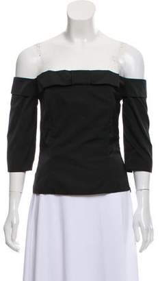 American Retro Louis Off-The-Shoulder Blouse w/ Tags