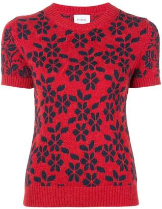 Barrie New Delft cashmere top