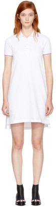 Thom Browne White Short Polo Dress $590 thestylecure.com