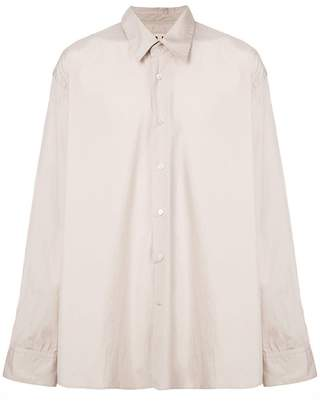 Marni oversized buttoned collar shirt