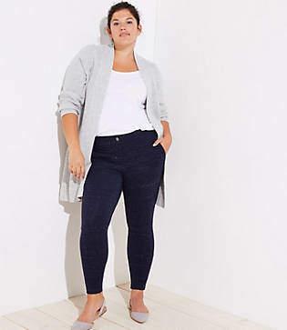 LOFT Plus Leggings in Speckled Patch Pocket