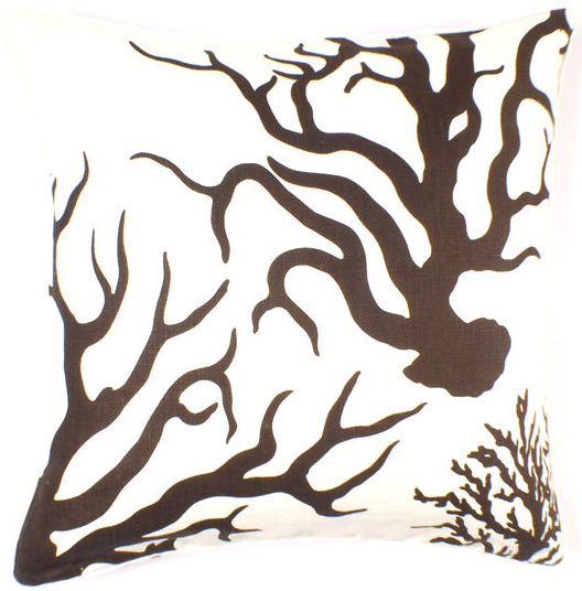 Thomaspaul - Coral Linen Pillow