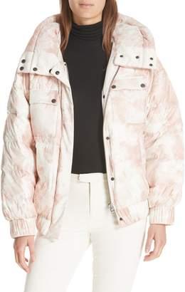 ATM Anthony Thomas Melillo Tie Dye Down Puffer Jacket