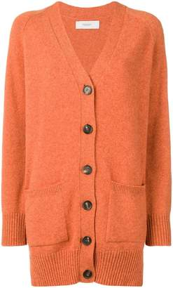 Pringle long buttoned cardigan