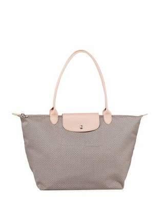 Longchamp Cowhide Leather Handbags - ShopStyle ca45efc431d53