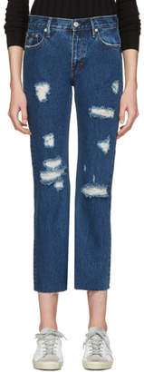 Earnest Sewn Blue Victoria Jeans
