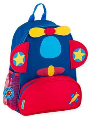 Stephen Joseph Airplane Sidekick Backpack in Red