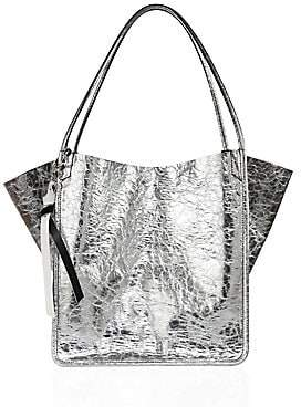 Proenza Schouler Women's Crinkled Metallic Leather Tote