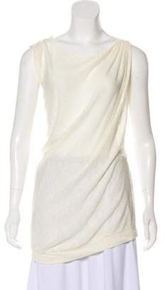 Giambattista Valli Scoop Neck Sleeveless Top