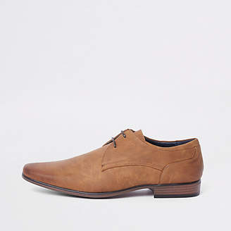 River Island Tan lace-up formal shoe