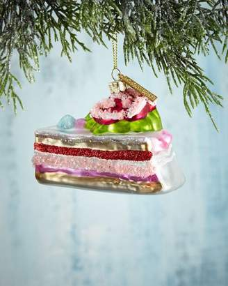 Katherine's Collection Candy Layer Cake Slice Christmas Ornament