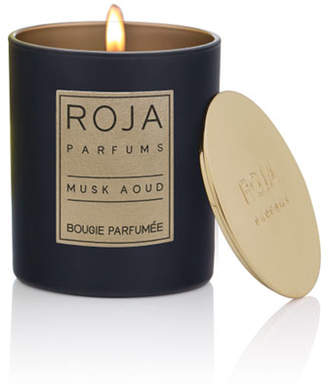 BKR Roja Parfums Musk Aoud Candle, 7.8 oz. / 220 g