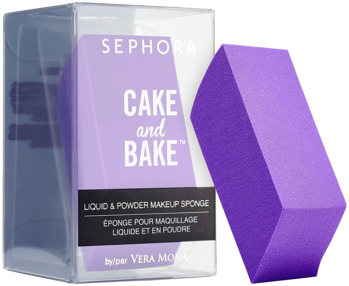 Sephora Collection SEPHORA COLLECTION - Cake and Bake by Vera Mona Liquid and Powder Makeup Sponge