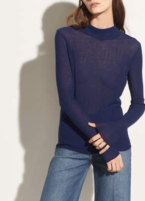 Long Sleeve Cotton Turtleneck