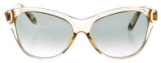 Givenchy Clear Cat-Eye Sunglasses