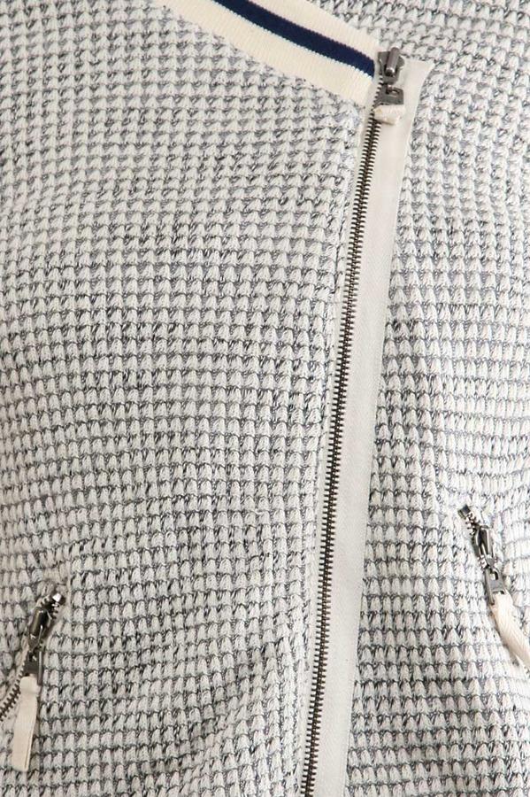 Splendid Boucle Jacket in Heather Grey