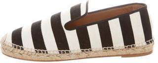 CelineCéline Canvas Striped Espadrilles w/ Tags
