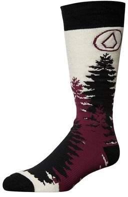 Volcom New Women's Tundra Tech Snow Sock Cotton Polyester Elastane