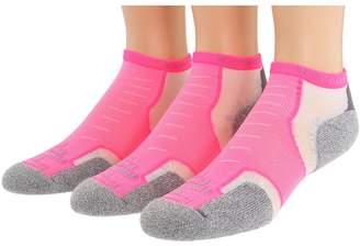 Thorlos Experia Micro Mini 3-pair Pack No Show Socks Shoes