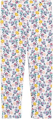 Tea Collection Floral Print Capri Leggings