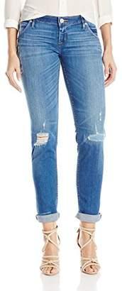 Hudson Women's Jax Boyfriend Skinny Flap Pocket Jean