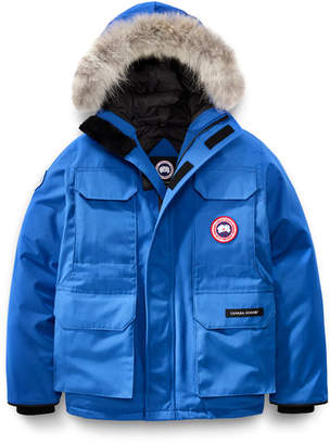 Canada Goose PBI Expedition Hooded Parka, Royal Blue, Size XS-XL