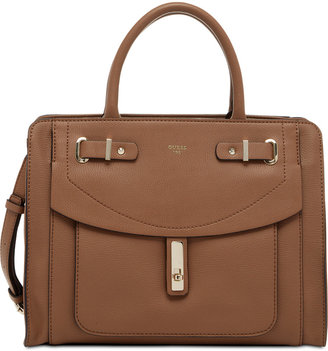 GUESS Kingsley Satchel $128 thestylecure.com