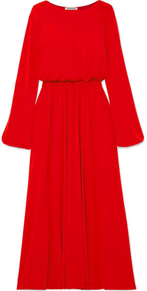 Elizabeth and James - Evy Stretch-crepe Maxi Dress - Red