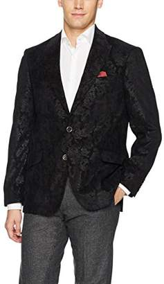 Robert Graham Men's Red Spruce Classic Fit Woven Sportcoat