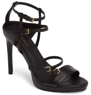 Women's Calvin Klein Shantell Strappy Platform Sandal