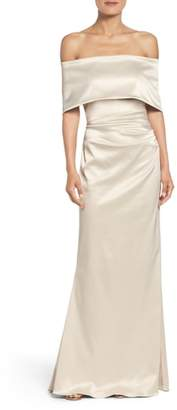Vince Camuto Off the Shoulder Gown