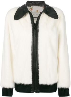 Gucci wolf bomber jacket