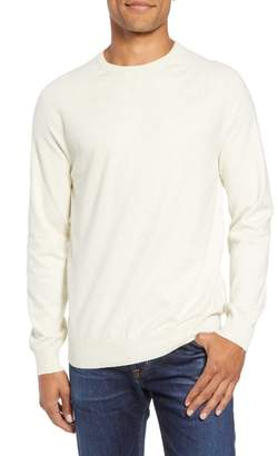 French Connection Regular Fit Stretch Cotton Crewneck Sweater