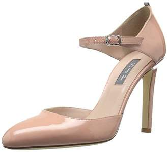 Sarah Jessica Parker Women's Campbell Closed Toe Ankle Strap Pump