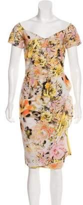 Chiara Boni Printed Midi Dress