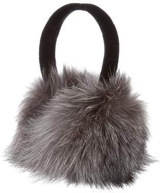 Saks Fifth Avenue Fox Fur Earmuffs