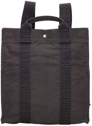 Hermes Herline Cloth Backpack