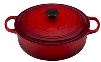 Le Creuset Signature 6 3/4-Quart Round Wide French/Dutch Oven