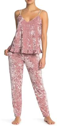 Josie Crushed Velvet Lounge Pants