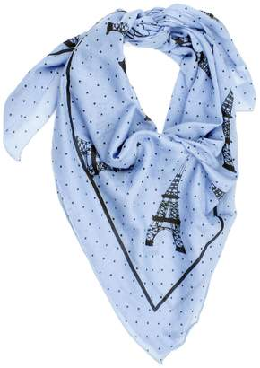Violet Del Mar Eiffel Tower Scarf $45 thestylecure.com