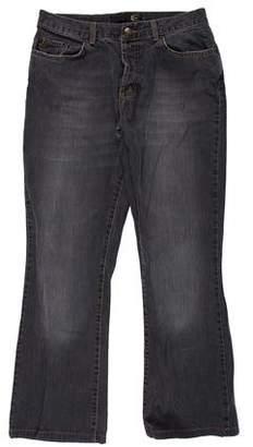 Just Cavalli Five-Pocket Straight-Leg Jeans