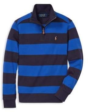 Ralph Lauren Childrenswear Boy's Striped Cotton Pullover