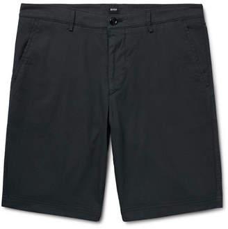 HUGO BOSS Slim-Fit Overdyed Stretch-Cotton Shorts