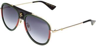Gucci Women's Gg0062s 57Mm Sunglasses