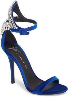 Giuseppe Zanotti Crystal Embellished Sandal